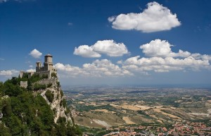 San_Marino-Castle-City-state-Enclave_and_exclave-List_of_World_Heritage_Sites_in_Europe-Monte_Titano-Southern_Europe-The_Three_Towers_of_San_Marino-Tourist_attraction